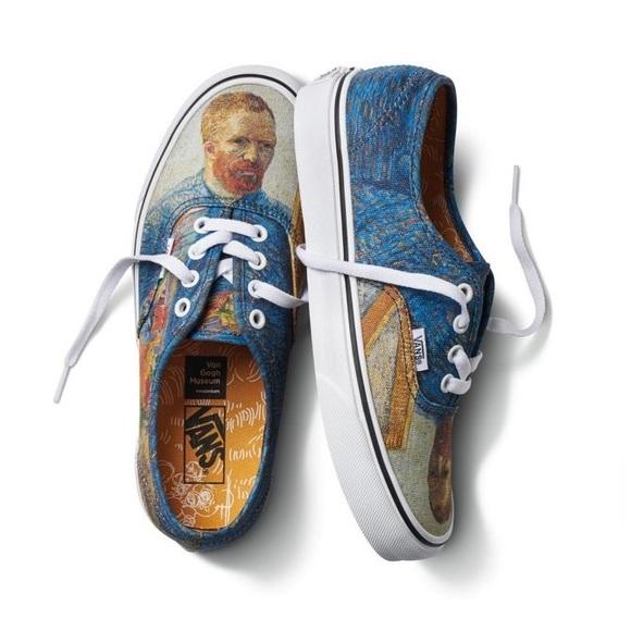 bf23b0047ac7 Vans X Van Gogh Museum Authentic Shoes